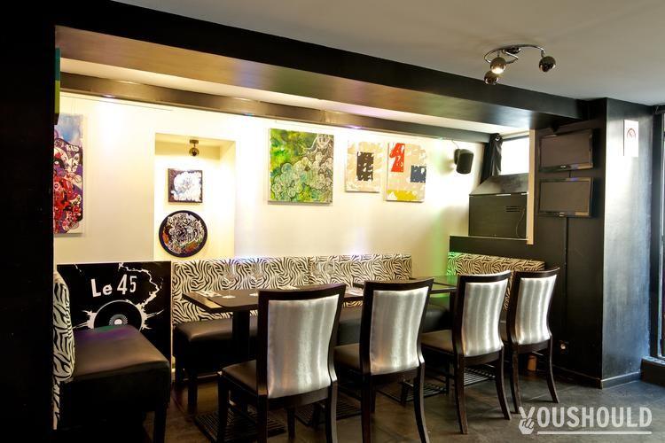 Le 45 Tours - Les meilleures offres de réservation ou de privatisation de bars à Paris