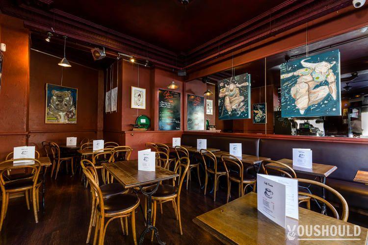 Café Fusain - Organiser un Afterwork