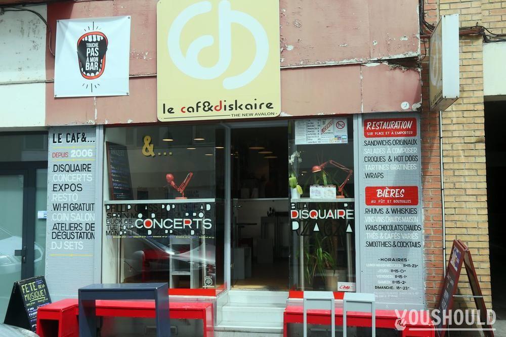 Photo du bar à réserver ou privatiser Caf&diskaire