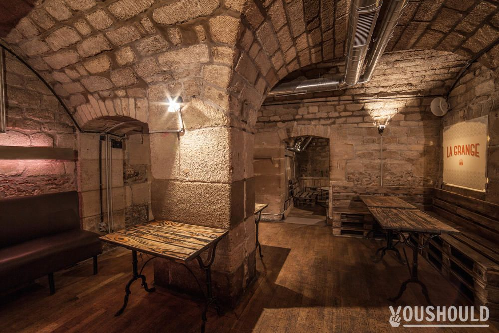 la grange bar privatiser et r server bourse paris youshould. Black Bedroom Furniture Sets. Home Design Ideas