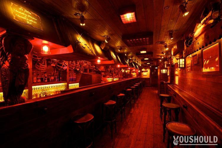 Barberousse Paris - Meilleurs bars à Réserver ou Privatiser pour Halloween