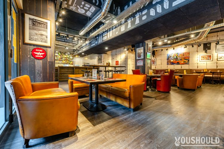 PlayOff Pizza Pub – Montparnasse - Regarder un match de foot