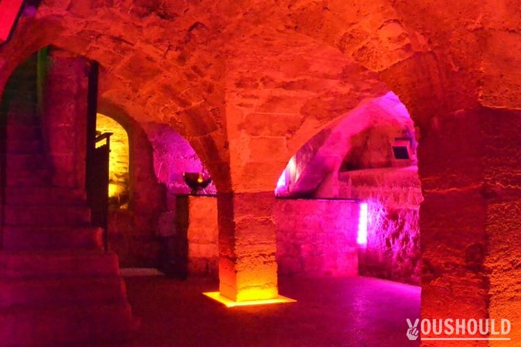 Cave des Bernardins - Top 10 des bars clubs à privatiser