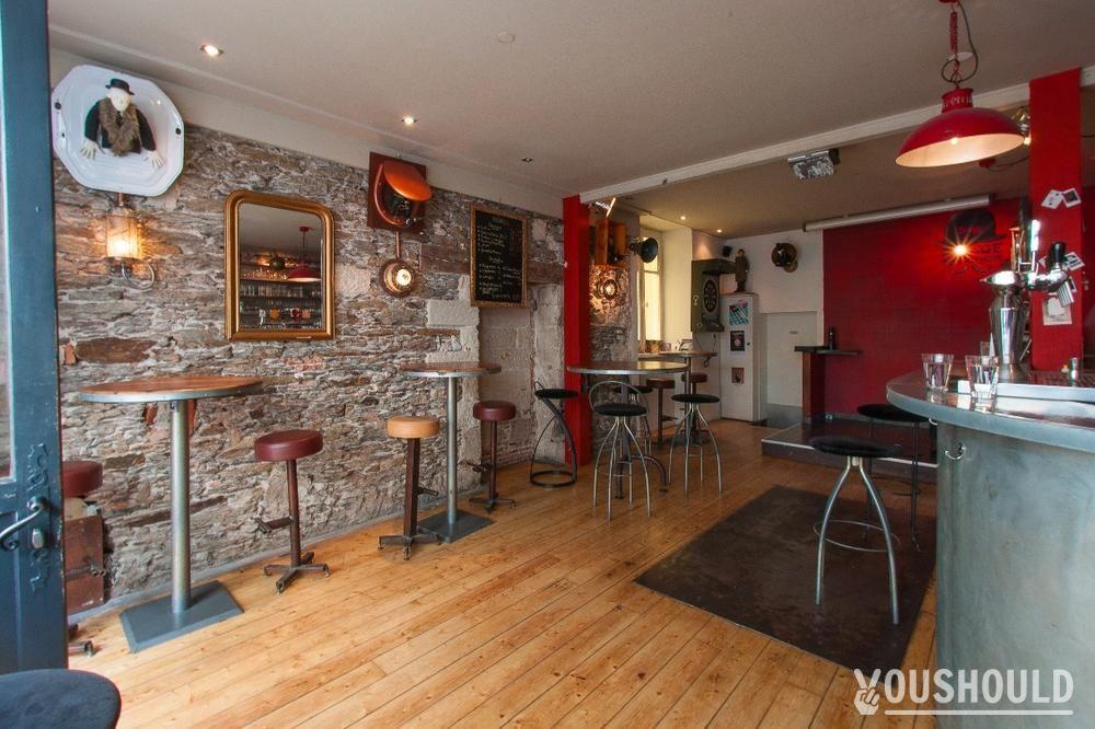 Bar Cafe Rouge Mecanique  Rue Bon Secours  Nantes